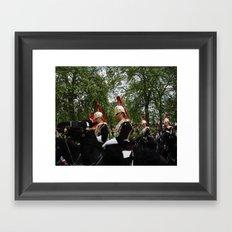 On Parade Framed Art Print
