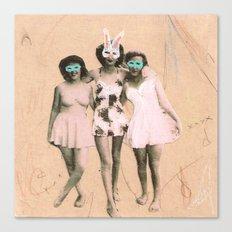 Imaginary Friends- Playmates Canvas Print