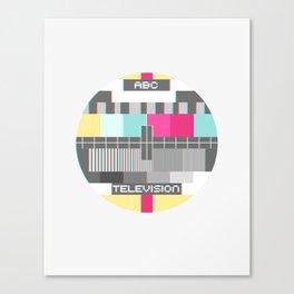 TV Transmission Canvas Print
