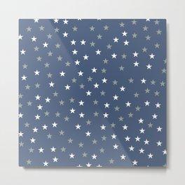 Stars Pattern 5 Metal Print