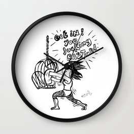 Get in! Wall Clock