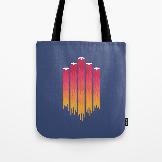 Break the Night with Color Tote Bag