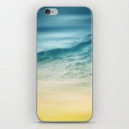 Sunset Waves iPhone Skin