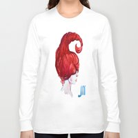 scorpio Long Sleeve T-shirts featuring Scorpio by Aloke Design
