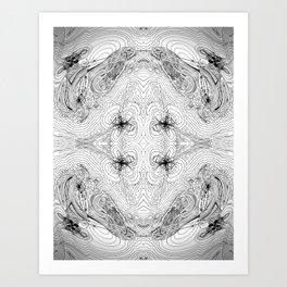 Orbital Theory: S.P.D.F... Art Print