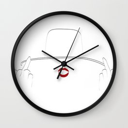 Formation Wall Clock