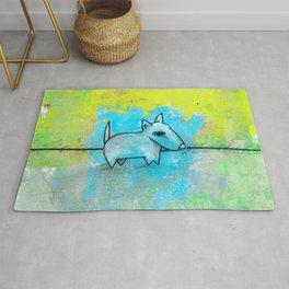Dog No.1k by Kathy Morton Stanion Rug