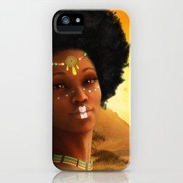 African Princess iPhone Case