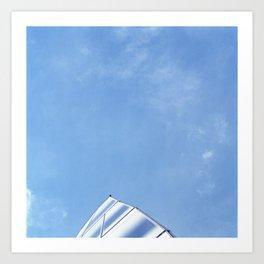 Frank Gehry - Shark fin Art Print