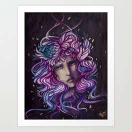 Emotional spectrum Art Print