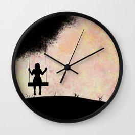 Pastel Swing Wall Clock