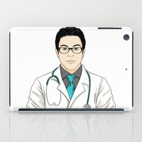 doctor iPad Cases featuring Doctor by BusOne - Aldo Campilongo