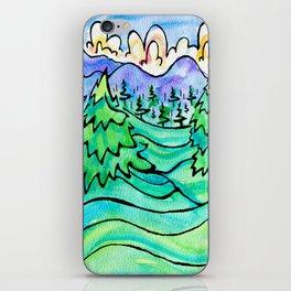 WILD AND FREE iPhone Skin