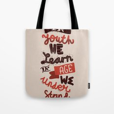 Youth & Age Tote Bag