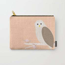 Owl, woodland animal, geometric & minimal Carry-All Pouch