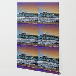 Myrtle Beach State Park Pier - Photo as Digital Paint Wallpaper