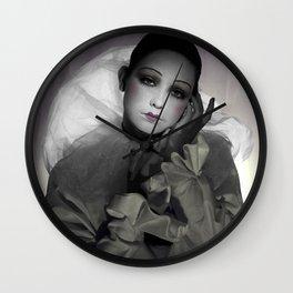 'La Reve d'un Pierrot' (c)Joel Stephen Birnie 2016 Wall Clock