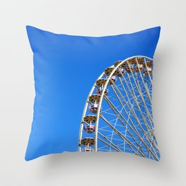 Back to my childhood Throw Pillow