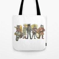 steampunk Tote Bags featuring Steampunk  by Felis Simha