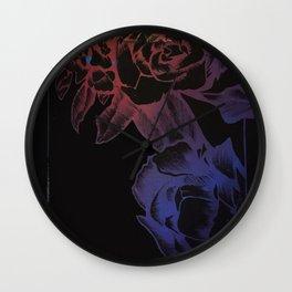 rose card Wall Clock