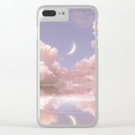 Where the soul resides Clear iPhone Case