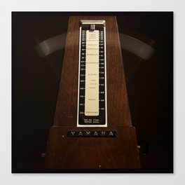 Be Still My Beating Metronome. Canvas Print