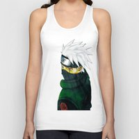 kakashi Tank Tops featuring Great Talent by BradixArt