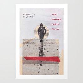400 BLOWS -- Francois Truffaut Art Print