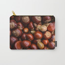 Castanea Chestnuts Nuts pattern Carry-All Pouch