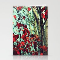moulin rouge Stationery Cards featuring Rouge  by Slight Clutter