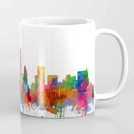 new york skyline watercolor Coffee Mug