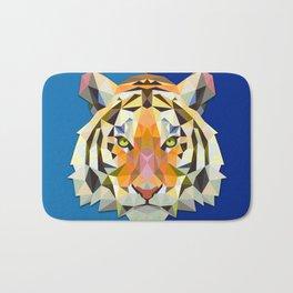 Graphic Tiger Bath Mat