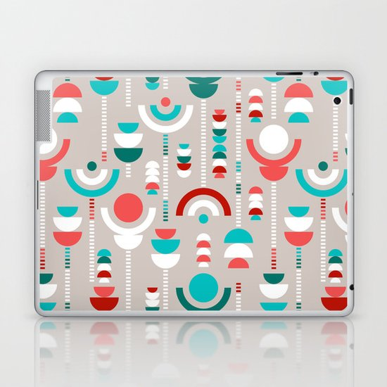 Tulip Tumble Laptop & iPad Skin