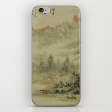 In crossing the river iPhone & iPod Skin