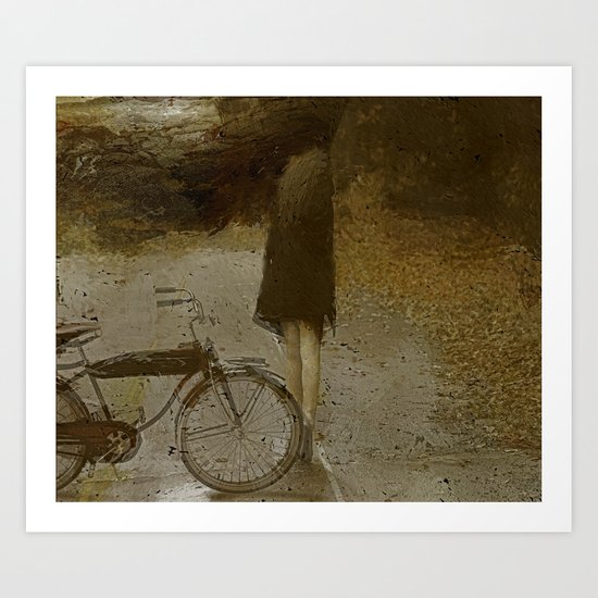 Road Closed Art Print