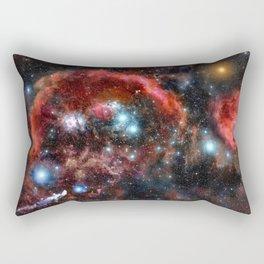 Orion Nebula Deep Colors Rectangular Pillow