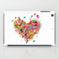 Heart1 White iPad Case