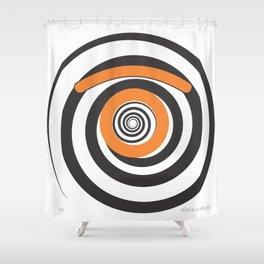 eye.pnosis Shower Curtain