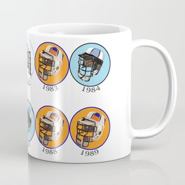 Lax Eighties Coffee Mug