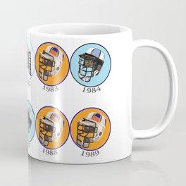 Lax Eighties Coffee Mug