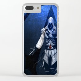 Assassin's Creed Ezio Poster Clear iPhone Case