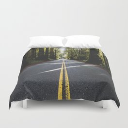 Redwoods Road Trip - Nature Photography Duvet Cover