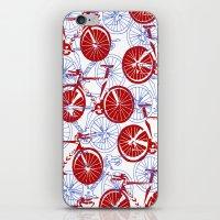 bikes iPhone & iPod Skins featuring Bikes by StephanieTara