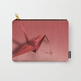 Crane meets a Crane. Carry-All Pouch