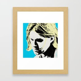 KURT Framed Art Print