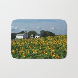 Sunflower Farm  - Pope Farm Conservancy, Wisconsin Bath Mat