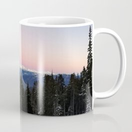 Morning view over valley Coffee Mug