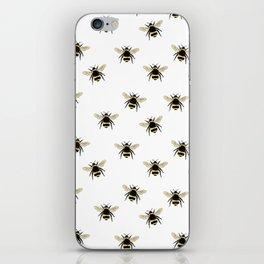 Bumble Bee pattern iPhone Skin