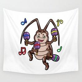 la cucaracha Wall Tapestry