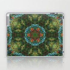 Tropical vine mandala Laptop & iPad Skin